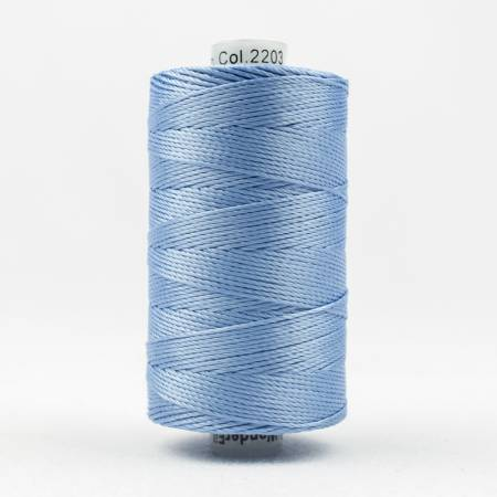 Razzle 8wt 6ply Rayon 229m Light Country Blue