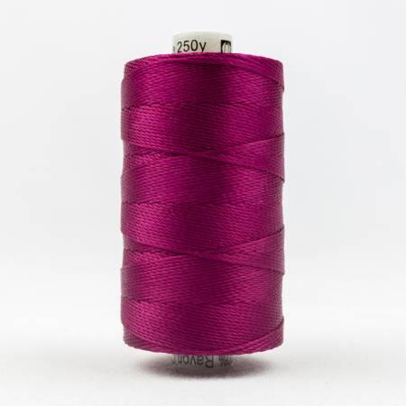 Razzle 8wt 6ply Rayon 229m Raspberry