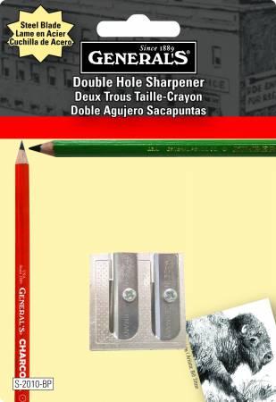 Double Hole Metal Sharpener, Blisrercarded