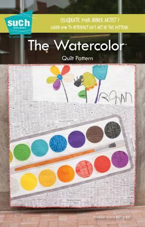 Watercolor Quilt Pattern by Such Designs