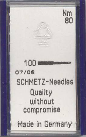 Schmetz Universal Machine Needle Size 12/80 Bulk