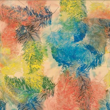 Sunset Bali Batik Feathers