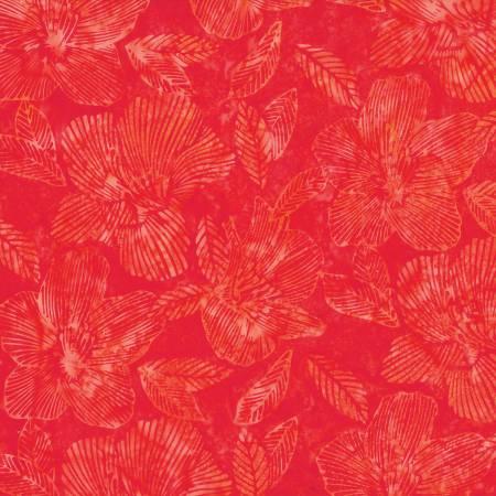 Nasturtium Striped Flower Bali Batik