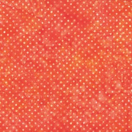 Hoffman Orange Bali Batik