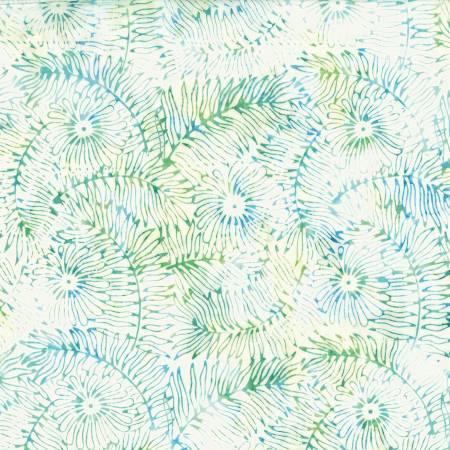 HOFF- Floral Leaf Ocean Batik