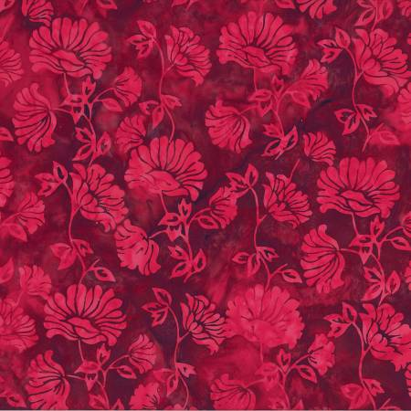 Red Velvet Bali Batik