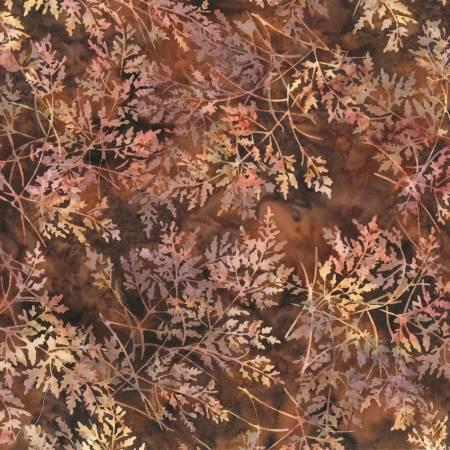 Hoffman Bali Batik S2354-168 Nutmeg Fern