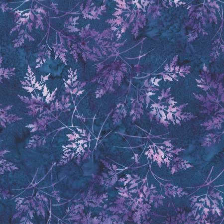 Hoffman Bali Batik S2354-424 Salvia Fern