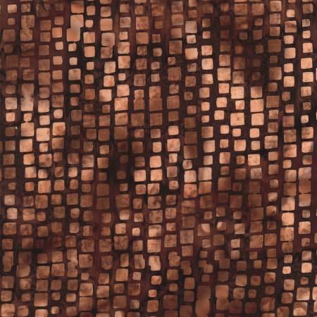 Bali Batik Stepping Stones - Brown