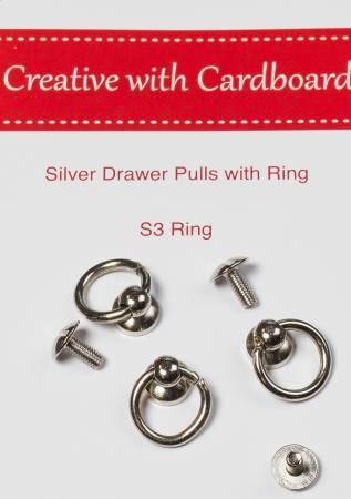 Silver Drawer Pulls