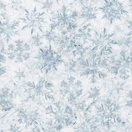 Crystal Snowflakes Digital Print S4712H-330