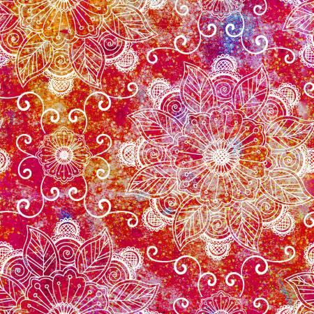 Floral Rhapsody - Punch Floral Digital