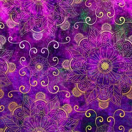 Floral Rhapsody - Light Bright Floral Digital