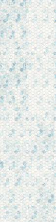 Ice Honeycomb Ombre Digital Panel, 44in repeat