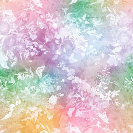 Pastel Tonal Floral Digital