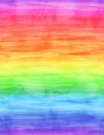 Cue The Confetti Digital Ombre Rainbow