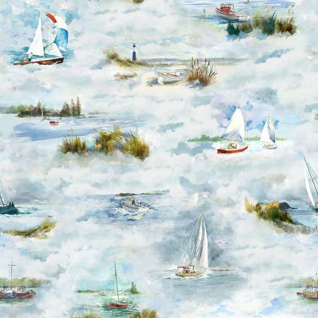 Sea Breeze Toile Digital