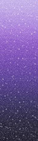 Glitz and Glam Ombre Sky Purple Fabric by the yard
