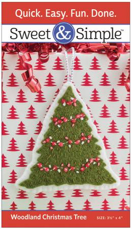 Woodland Christmas Tree Pattern