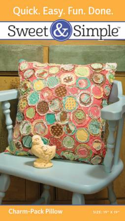 Sweet & Simple - Charm Pack Pillow Pattern