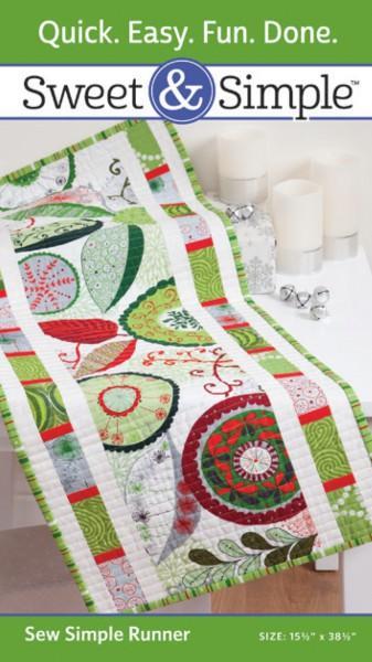 Sweet & Simple - Sew Simple Runner Pattern