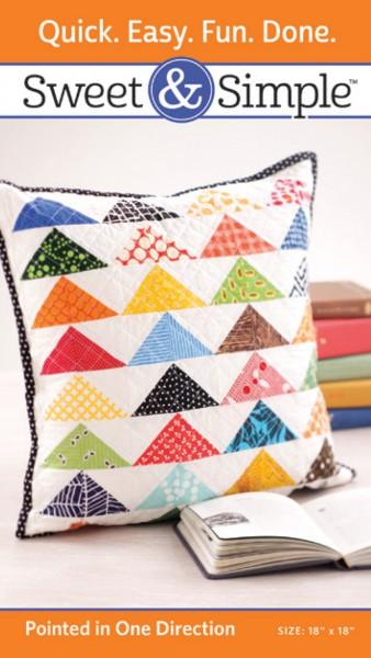 Sweet & Simple - Pointed in One Direction Pattern