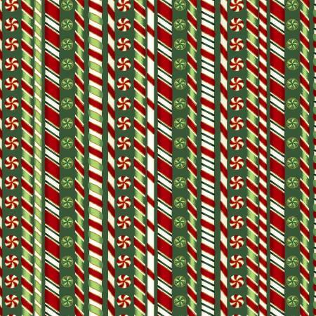 Hunter Candy Cane Stripe w/Metallic