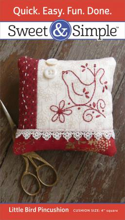 Little Bird Pincushion Pattern