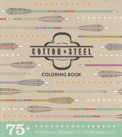 Cotton + Steel Coloring Book - Softcover