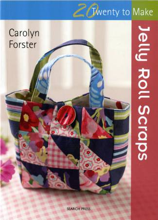 20 To Make Jelly Roll Scraps  - Softcover