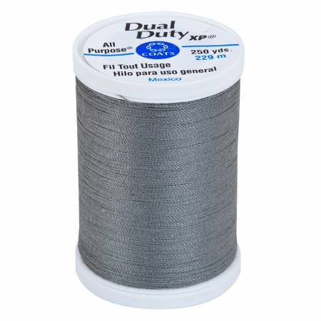 Dual Duty XP Polyester Thread 250yds Business Grey