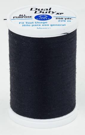 Coats All Purpose Dual Duty Thread -Black