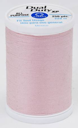 Dual Duty XP Polyester Thread 250yds Light Pink