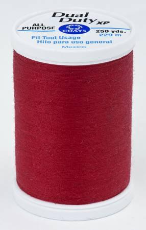 Dual Duty XP Polyester Thread 250yds Scarlet