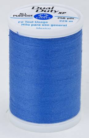 Dual Duty XP Polyester Thread 250yds Pilot Blue