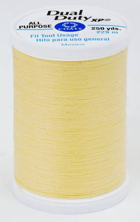 Dual Duty XP Polyester Thread 250yds Yellow