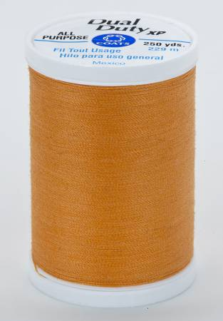 Dual Duty XP Polyester Thread 250yds Pumpkin