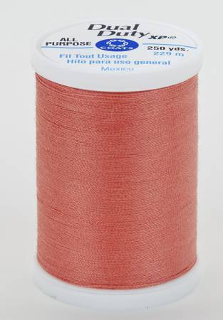 Dual Duty XP Polyester Thread 250yds Coral Rust