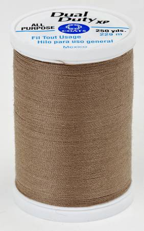 Dual Duty XP Polyester Thread 250yds Driftwood