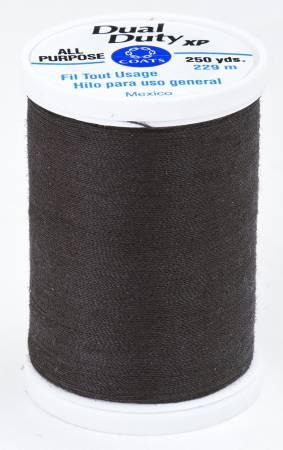 Coats All Purpose Dual Duty Thread -French Roast