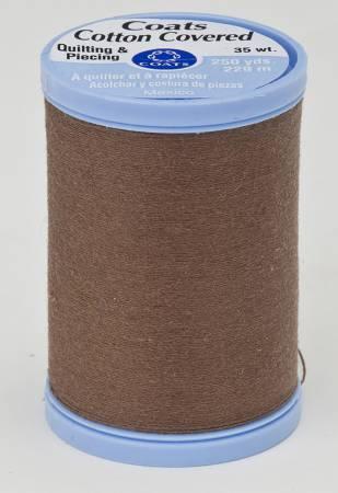 Coats And Clark Quilt Piecing thread 35 wt brown