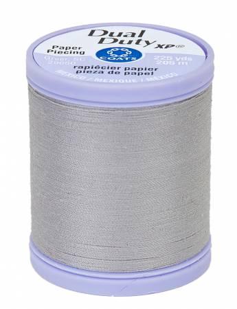 Dual Duty Paper Piecing Thread 225yd Nugrey