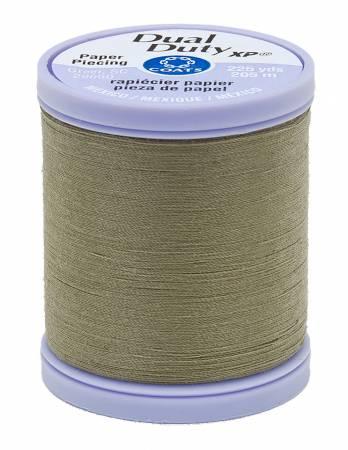 Dual Duty Paper Piecing Thread 225yd Green Linen