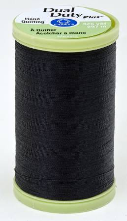 Dual Duty Plus Hand Quilting Thread 325 yds Black