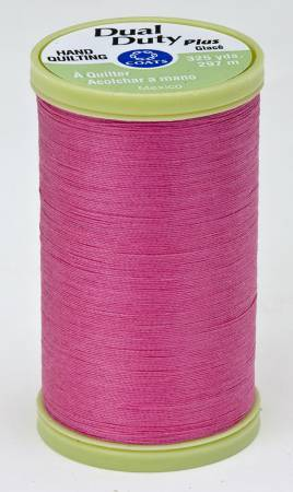 Dual Duty Plus Hand Quilting Thread 325 yds Hot Pink