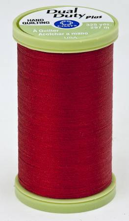 Dual Duty Plus Hand Quilting Thread 325 yds Red