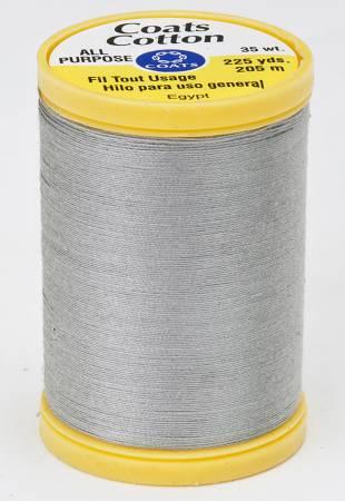 Coats Cotton Sewing Thread 225 yds Nugrey