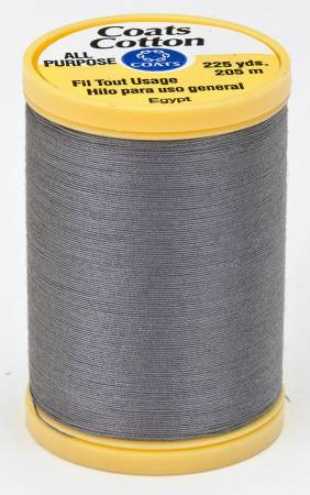 Coats Cotton Sewing Thread 225 yds Slate