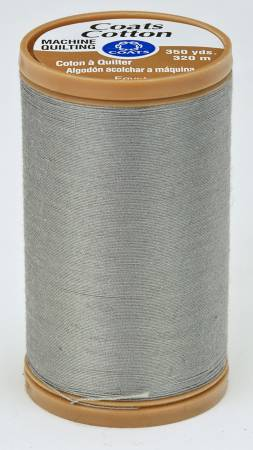 Coats Cotton Machine Quilting Thread 350 yds Slate