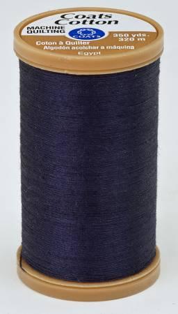 Coats Cotton Machine Quilting Thread 350 yds Navy